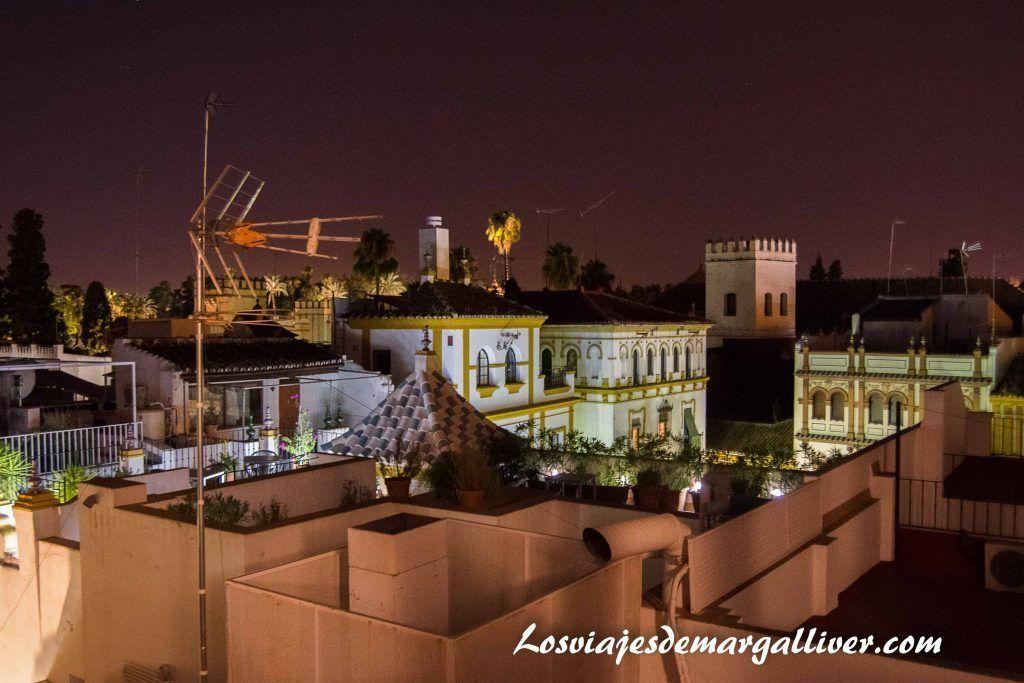 Vistas desde la azotea del hospital de los venerables en Sevilla - Los viajes de Margalliver